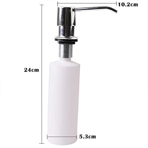Price comparison product image UMFun 300ML Countertop Liquid Hand Pump Kitchen Sink Soap Dispenser