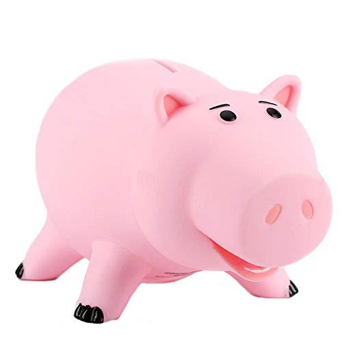 WY-BSO Piggy Bank,Cute Pink Plastic Pig Money Box Saving Coin Box Money Bank for Kid Children Girls Boys