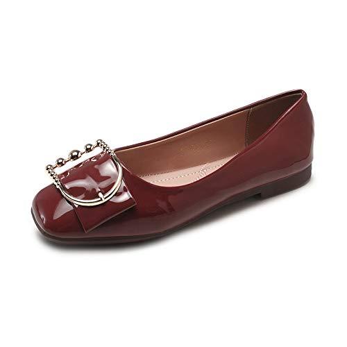 Planos cómodos Casual de de Moda los Coloridos Oficina del Las FLYRCX la Mujeres Zapatos B Zapatos de Calzan Los Antideslizantes Trabajo Hw0BqHEZx