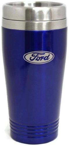 Ford Travel Mug Travel Coffee Mug Cup Stainless Steel Tea Mug Thermo - Blue DanteGTS TM150.FOR.BLU