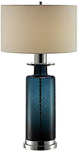 - Sebastian Hammered Turk Glass Table Lamp