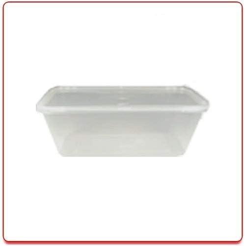 Amazon.com: 10 Microondas Plástico recipientes para comida ...