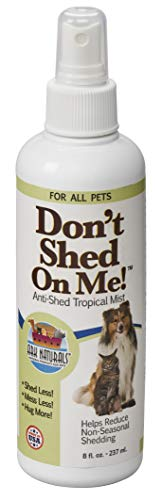 Ark Naturals Don't Shed On Me, Pet Anti-Shedding Spray, Natural Shedding Control, 8oz Spray Bottle (Dogs That Don T Shed And Smell)