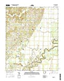 Cord, Arkansas topo map by East View Geospatial, 1:24:000, 7.5 x 7.5 Minutes