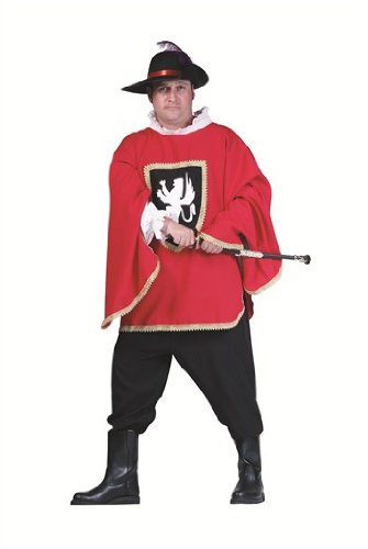Musketeer Costume Plus Size