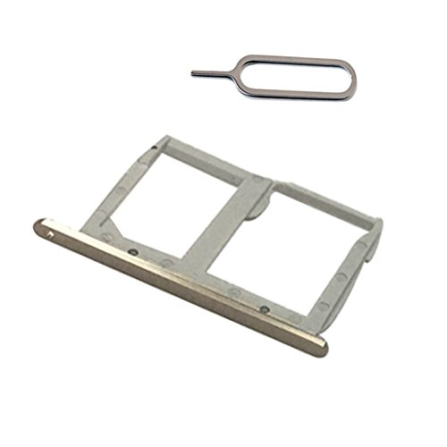Sim Card Tray & Micro SD Memory Card Holder For L G G5 H840 H850 VS987 H820 LS992 H830 H831 F700 All carrier (gold dual sim) (F700 Lcd)