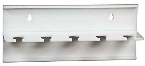 (TrippNT 50696 Wall Mountable Auto Pipettor Holder with 5 Slots, 10