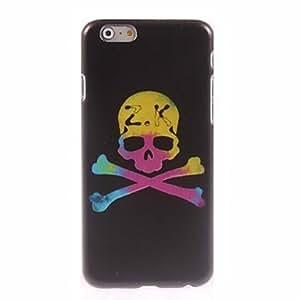 JJE Yellow Skull Design Hard Case for iPhone 6
