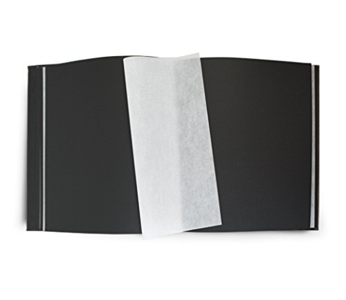 Leather Photo Album / Scrapbook, a Handmade Italian Classic with 100 acid-free Black pages | Epica by Epica