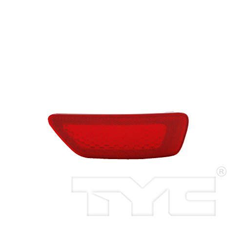 TYC 17-5288-00 Jeep Left Replacement Reflex (Replacement Reflector)