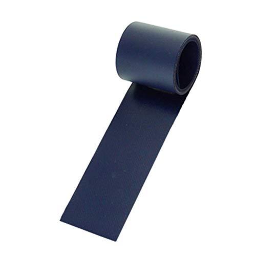 MagiDeal Accesorio De Parches De Reparación De Parche De PVC para Kayak De Canoa Inflable - Azul Oscuro, 100x5cm