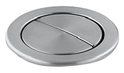 Kohler K-186-G Persuade Dual-Flush Actuator, Brushed Chrome -