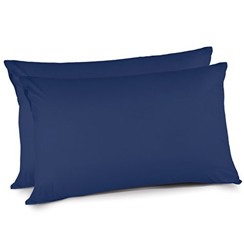 Buy Adoric Queen Size Brushed Microfiber Pillow Cases with Envelope Closure End, Wearable Case-2Pcs,...