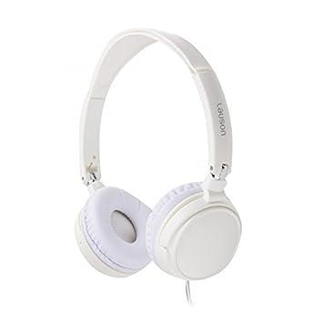 Lauson PH138, Auriculares de aro abiertos y plegables, Cascos ligeros, Blanco
