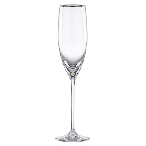 Lenox Timeless Platinum Signature Crystal - Platinum Glass Champagne