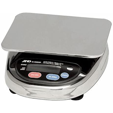 A D Weighing HL 1000WP Portion Control Washdown Scale 1000g X 0 5g