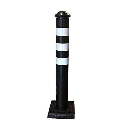 Flexibler Kunststoff Bollard Barrier Post Parkplatz Einfahrt Fahrzeug Dekoration Schwarz
