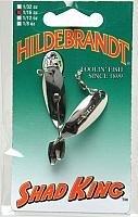 South Bend Sporting Goods Yakima Hildebrandt Shad King Bait, Nickel, 1/16 Oz. For Sale