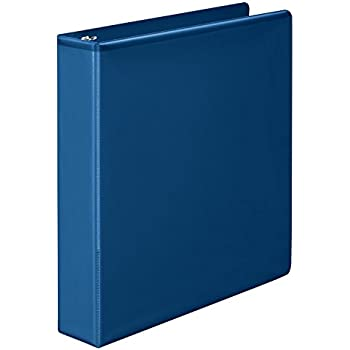 amazon com amazonbasics 3 ring binder 1 5 inch rings 4 pack