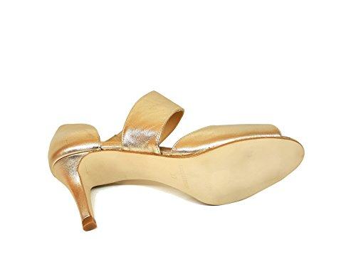 Tacco In Donna Indiana Gennia Pelle Sandalis Con Hqa1xwYRg