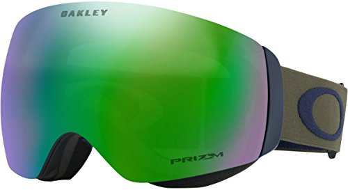 Oakley Flight Deck XM Asian Fit Snow Goggles, Canteen Jade, - Deck Women's Xm Goggles Snow Flight Oakley