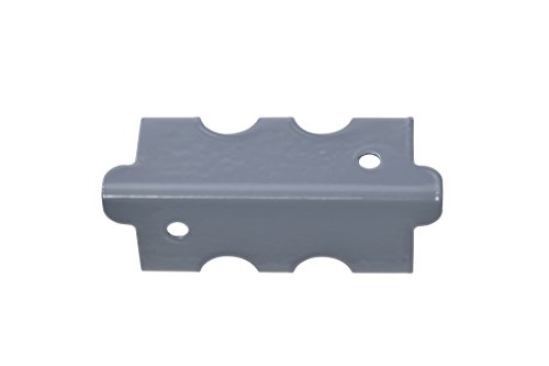 Edsal CPOUT-Gry-4 Muscle Rack Post Coupling Outer Grey (4 Pack), 3