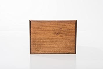LifeSong Milestones Cremation Urn for Adult Ashes Made of Cherry Wood