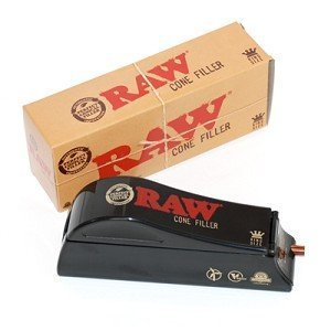 Raw Natural Rolling Papers Cone Filler - Cone Shooter Machine (1 1/4 Size)