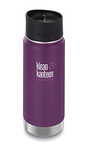 Klean Kanteen Wide Mouth Insulated Stainless Steel Coffee Mu