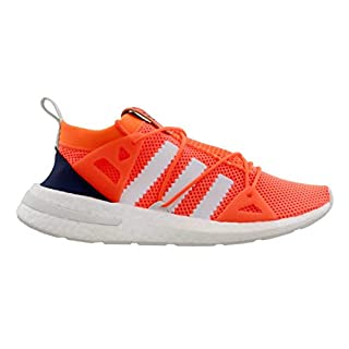 adidas Originals Women's ARKYN Primeknit Boost Shoes (10.5, Solar Orange/Cloud White/Ice Mint)