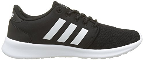 adidas Women's Cloudfoam QT Racer Trainers Black (Core Black/Footwear White/Carbon 0) cheap sale low price CilNFRUv