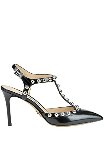 Luciano À Padovan Cuir Talons Noir MCGLCAT03109E Femme Chaussures 8ra78qgw