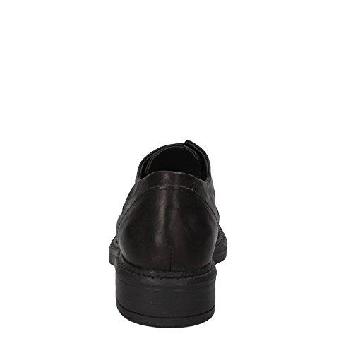 Minoronzoni Cuir Chaussures Femme Noir Élégantes 8Rgq8