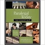 Book West's Paralegal Today- Essentials & Bankruptcy (4th, 08) by Miller, Roger LeRoy - Urisko, Mary Meinzinger [Paperback (2008)]