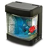 Mini Aquarium 4 Port USB Hub, USB Or Batteries