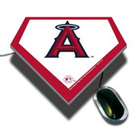 (MLB Los Angeles Angels Home Plate Design Mouse)