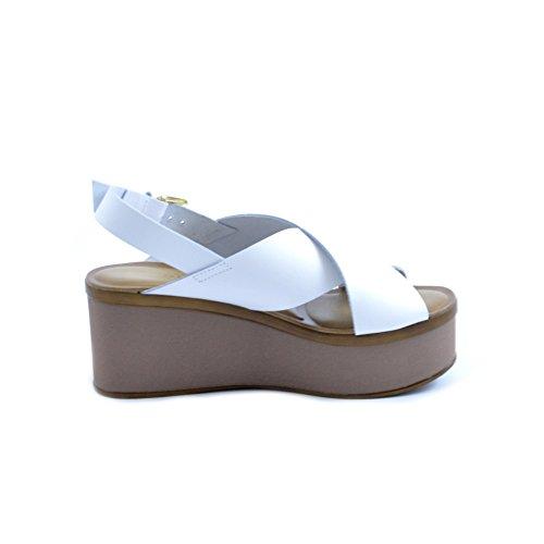 Soldini , Damen Sandalen weiß Bianco