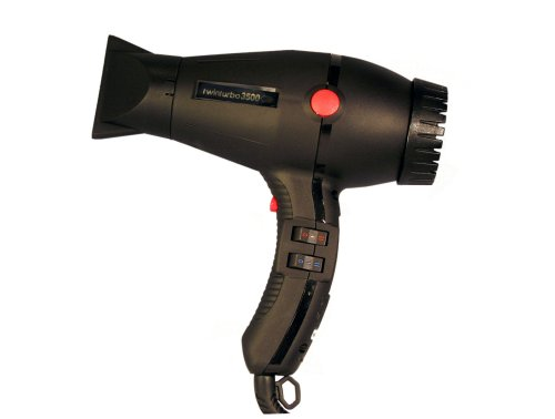 Extracompact Twinturbo 3500 2000 Watt Compact Professional Hair Dryer by Twin Turbo