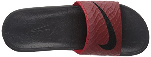 Nike Men's Benassi Solarsoft Beach and Pool Shoes Red XmJ4hYxUbv