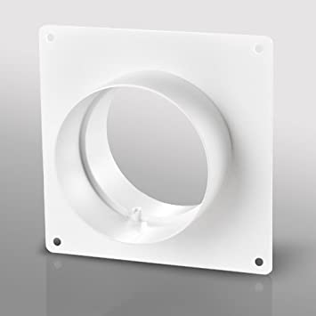Wall Plate With Spigots - 100mm