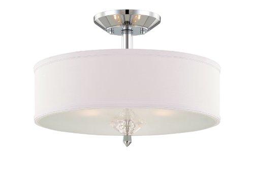 (Designers Fountain 84211-CH Palatial Semi-Flush)