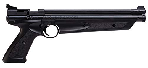 Crosman American Classic Multi Pump Pneumatic Pellet Air Pistol, Black