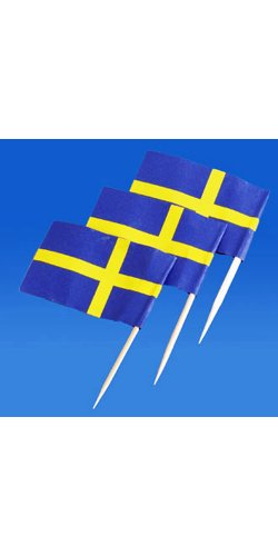 Sweden Flag Toothpicks 50 Pk product image