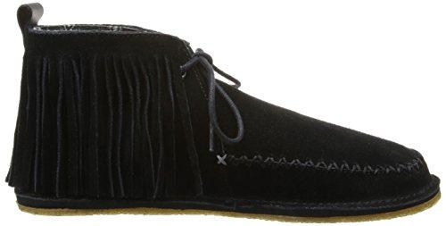 crocs Womens OM483 Ruffout Slip-On Loafer,Black,11 M US