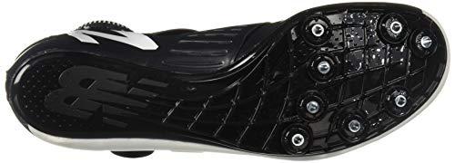 New Balance Men's Sigma V2 Vazee Track Shoe White/Black 4 D US by New Balance (Image #3)