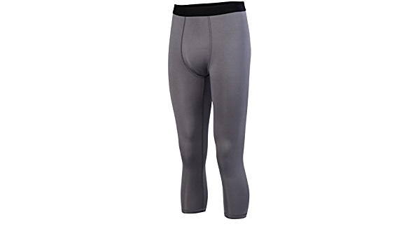 Augusta Sports Youth Medium Black//Red Compression Tights