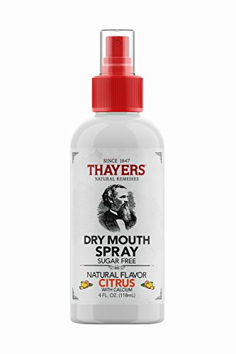 Thayers Sugar-Free Dry Mouth Spray, Citrus, 4 Fluid Ounce