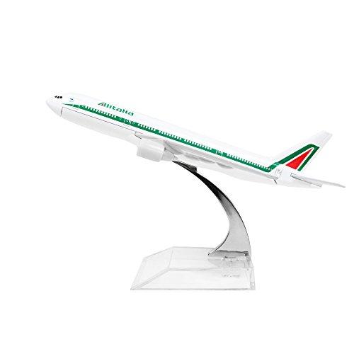 Alitalia Boeing 777 Alloy Metal Model Plane