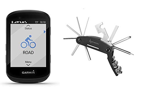 Garmin Edge 530 GPS Cycling Computer with Included Wearable4U Cycling Multi Tool - Edges Tools Straight Sensors