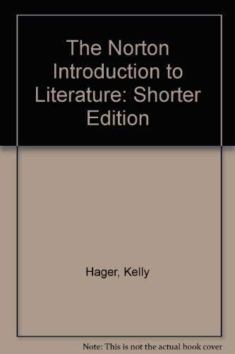 The Norton Introduction to Literature 8e Shorter IM